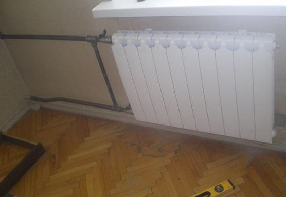 Замена чугунного радиатора на биметаллический своими руками 100